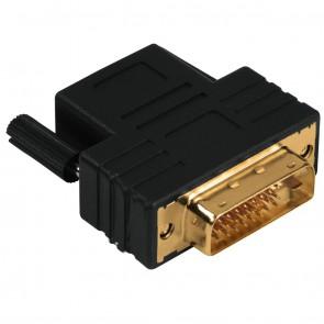 מתאם HDMI נקבה ל DVI זכר. דגם- 122237