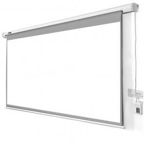 """מסך גלילה חשמלי לקיר/תקרה  108""""  133/240 ס""""מ"""