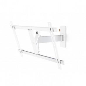 זרוע מסתובבת מפרקית למסכי LED/ LCD/ PLASMA עד 65 אינצ'  צבע לבן