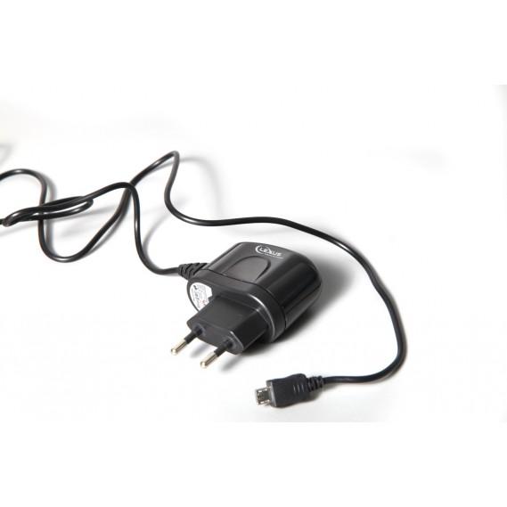 עם חיבור לחשמל ביתי MICRO USB  מטען נייד - סיריוס אלקטרוניקה