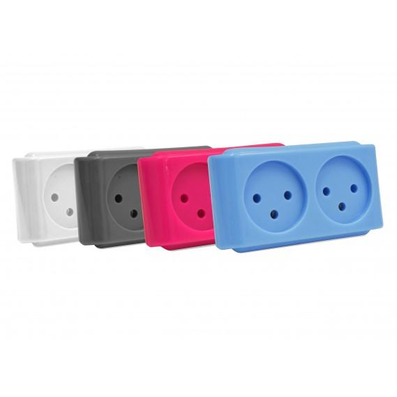 מפצל חשמל ישיר בעל 2 יציאות במגוון צבעים T2 PURE ENERGY סיריוס