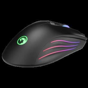 עכבר גיימינג 7 לחצנים עם תאורת RGB ומהירות 7200 DPI מבית Marvo