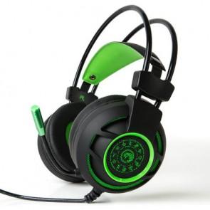 אוזניות גיימינג וסטריאו עם סאונד היקפי 7.1 ומיקרופון