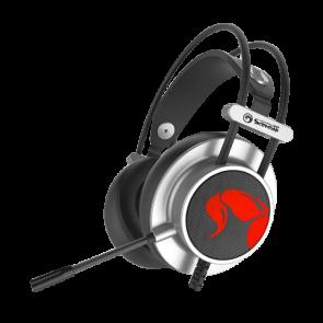 אוזניות גיימינג איכותיות 7.1 סראונד עם תאורה משתנה