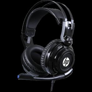 אוזניות גיימינג סטריאו מקצועיות עם מיקרופון מובנה מבית HP