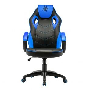 כיסא גיימרים ארגונומי ובטיחותי עם כרית ראש מובנית