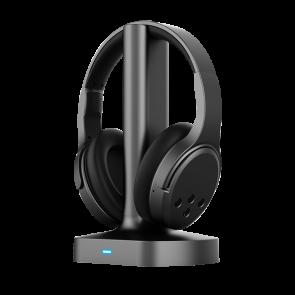 אוזניות אלחוטיות לטלוויזיה בטכנולוגיית RF מבית Brookstone