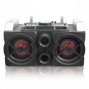 DJ Pro - X-drive Bass System - מערכת DJ סאונד אקסטרים ומיני מיקסר מבית PURE ACOUSTICS