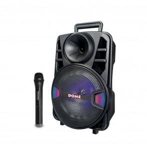 בידורית קריוקי ניידת עם מיקרופון אלחוטי 1000W מבית Dome