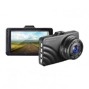 מצלמת רכב עם מסך 3 אינטש וצילום רחב של 90 מעלות