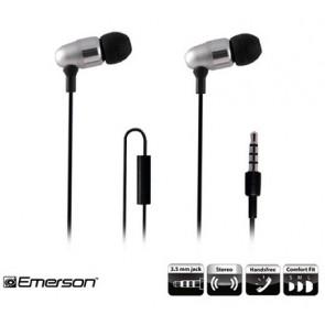 אוזניות עם סאונד HD המתאימות לסמארטפונים ולמכשירי המוזיק עם פלג 3.5mm עם מיקרופון מובנה דגם: EM-887