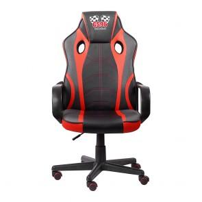 כיסא גיימינג ארגונומי ובטיחותי עם כרית תמיכת ראש מובנית