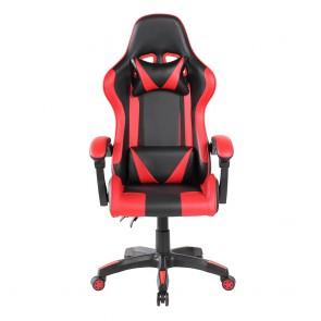 כיסא גיימרים ארגונומי ובטיחותי עם כריות תמיכה לנוחות מקסימלית