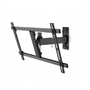 מתקן תליה מסתובב מפרקי למסכי LED/LCD/PLASMA עד 65 אינצ'  צבע שחור