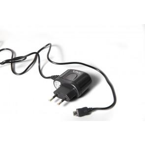 עם חיבור לחשמל ביתי MICRO USB  מטען נייד