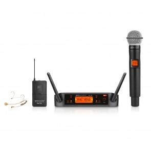 מיקרופון מדונה אלחוטיים עם רגישות גבוהה במיוחד UHF דינמיים ואיכותיים Pure Acoustics