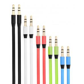 כבל AUX להעברת שמע במגוון צבעים