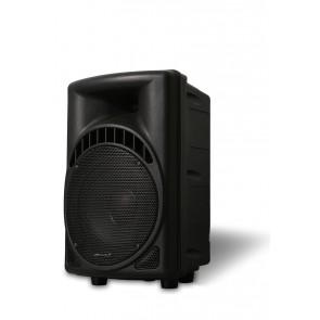 """רמקול אקטיבי מקצועי 8"""" משולב שלט רחוק ורדיו FM מבית Pure Acoustics"""