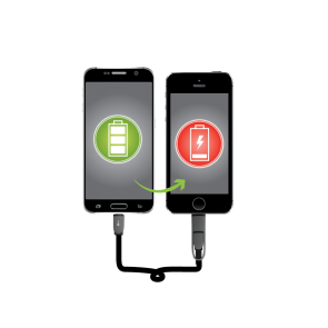 Rescue Cable - Emergency Phone to Phone Charging Cable