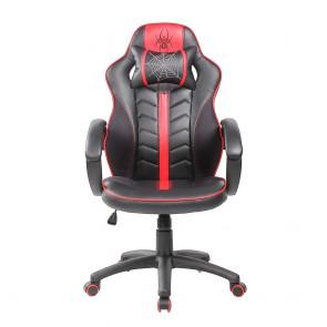 כיסא גיימרים ארגונומי ובטיחותי כולל כרית תמיכת צוואר למקסימום נוחות