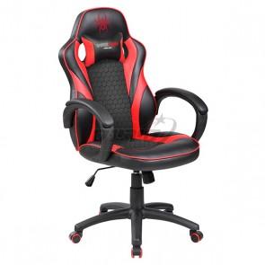 כיסא גיימרים ארגונומי ובטיחותי כולל כרית תמיכת צוואר