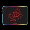 פד גיימינג של Scorpion רך ואיכותי במיוחד עם תאורת RGB מבית Marvo